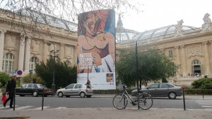 Grand Palais -- When the Steins (exhibition about Gertrude Stein, her brother and Alice B.Toklas - was at the museum. (Copyright Marilyn Z. Tomlins)
