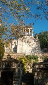 The tomb of Baroness Stroganova -- the largest in the cemetery