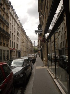 Rue le Sueur where the murder house stood at Number 21
