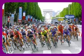 The final stage of the 2012 Tour de France