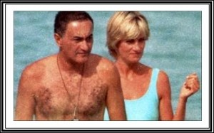 Diana and Dodi in the days before their death.