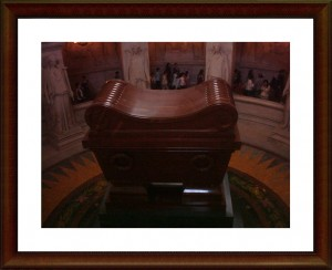 Napoleon's tomb in Paris's Les Invalides (copyright marilynztomlins)