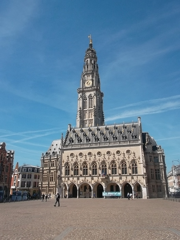 Arras May 2015 - town hall 1