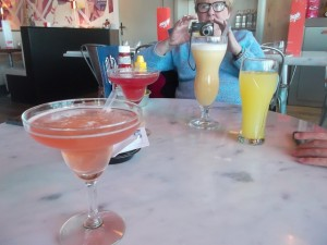 Cocktails at the MyPop Burgers Bar (cc Marilyn Z.Tomlins)
