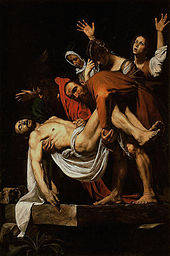 Caravaggio's The Entombment of Christ