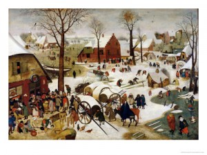 Bruegel the Younger's Census at Bethlehim