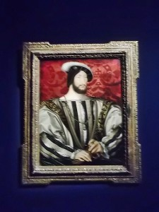 Francois 1 as can be seen at Chantilly Chateau (cc Marilyn Z. Tomlins)