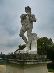 A statue of Bacchus in the Park (cc Marilyn Z. Tomlins)