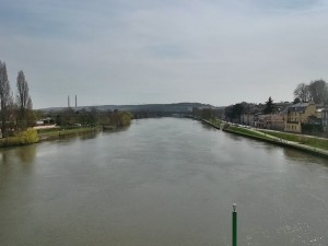 Conflans where the Seine and the Oise rivers meet (cc Marilyn Z. Tomlins)