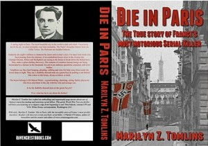 My book Die in Paris - the paperback