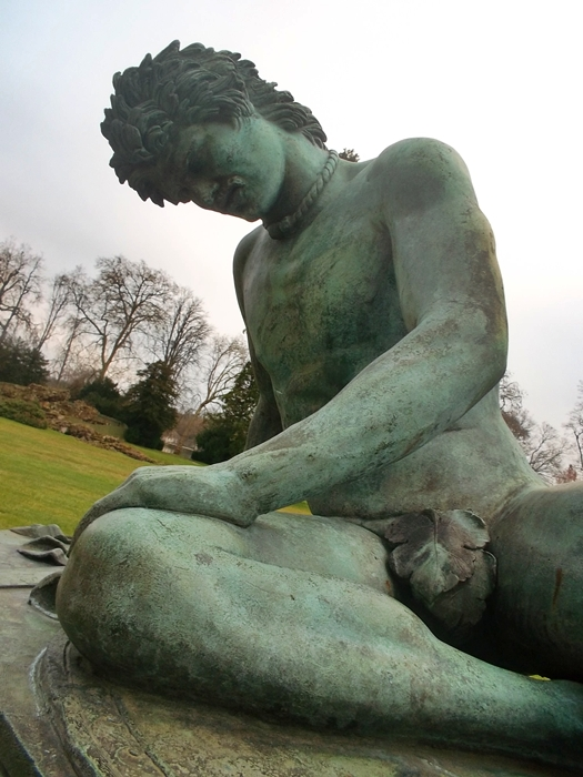 Can be seen in Fontainebleau Palace's park.  (Copyright Marilyn Z.Tomlins)