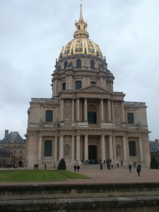 Les Invalides in Paris where Napoleon lies buried (copyright marilynztomlins)