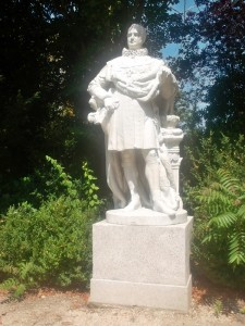 Napoleon in the park of Malmaison (cc Marilyn Z.Tomlins)