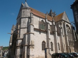 The Notre Dame Cathedral in Moret-sur-Loing (cc Marilyn Z Tomlins)