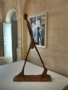 One of the Giacometti's on display in the Museum (cc Marilyn Z.Tomlins)