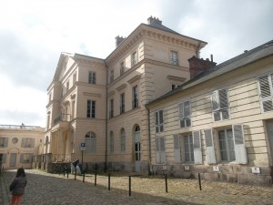 This is a palace Napoleon had had built for his infant son in Rambouillet . The boy did not spend even one night there.(copyright  marilynztomlins)