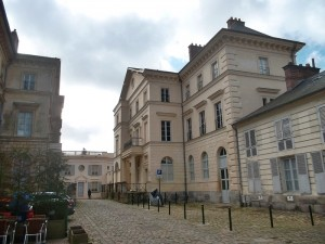 Rambouillet - palace Na;poleon built for his infant son. (co;pyright marilynztomlins_