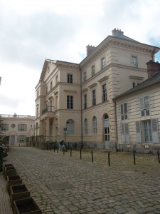 The palace Napoleon had had built for his son. The child never stepped foot in it.