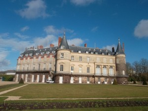 Rambouillet from another angle (copyright marilynztomlins)