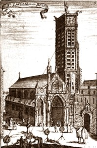 The church and the tower