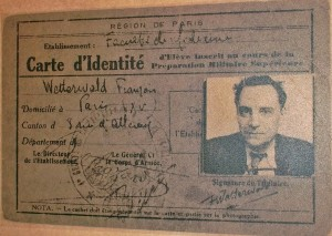 One of the fake identity cards Petiot used while on the run