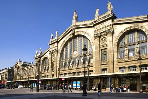 Paris' Gare du Nord which will fall in a ZTI (cc Marilyn Z. Tomlins)