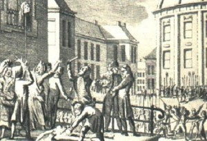This is a Dutch engraving of Lamballe's lyncing.