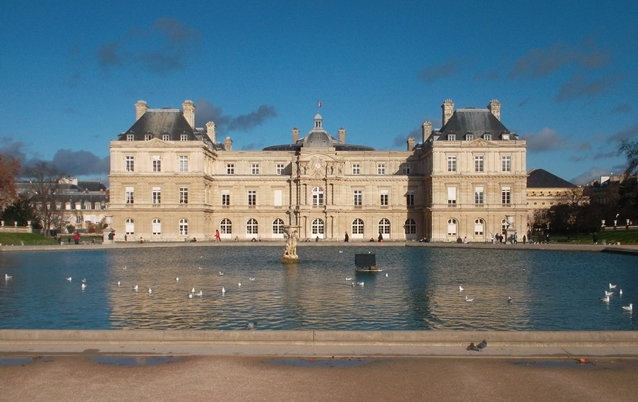 Luxembourg Gardens (Copyright Marilyn Z.Tomlins)