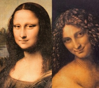 Mona Lisa and Saint John the Baptist: same face?