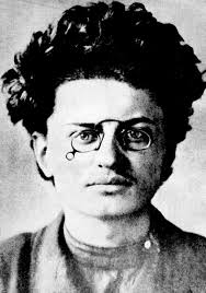 Leon Trotsky then still the young revolutionary.