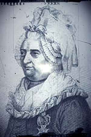 The Chevalier d'Eon as a woman.